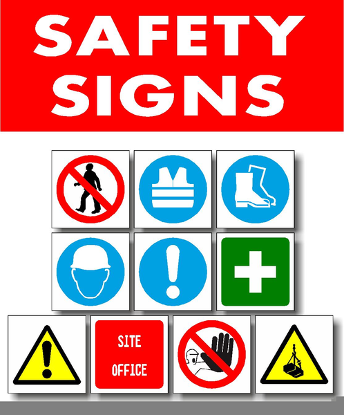 Industrial Safety Signs And Symbols Clipart Free Images At Clker
