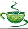 Steaming Cup Of Coffee Clipart Image