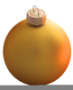 Christmas Ball Ornament Clipart Image
