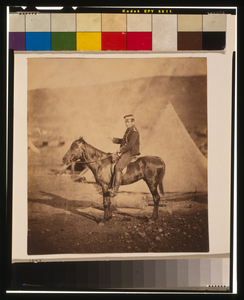 Major Morris, C.b., Royal Artillery Image