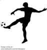Free Clipart Soccer Player Image