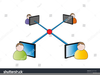 Business Networking Icon Image