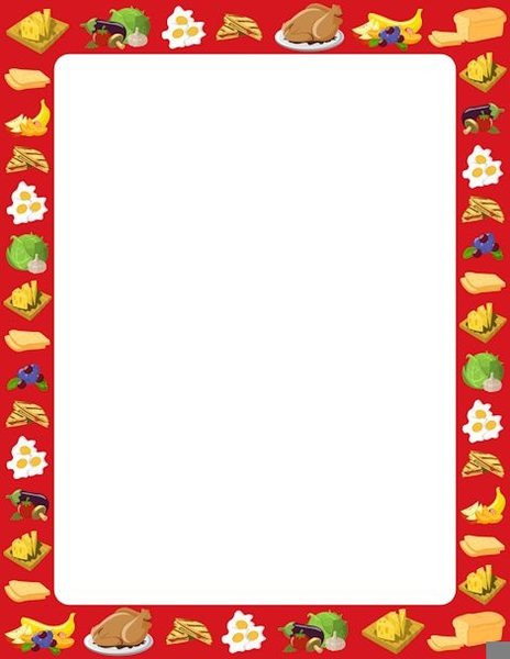 Free Cooking Border Clipart   Free Images at Clker.com ...