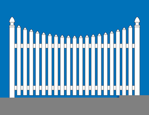 white picket fence clipart free images at clker com vector clip rh clker com white picket fence clipart white picket fence clipart free