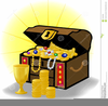 Treasure Chest Cartoon Clipart Image