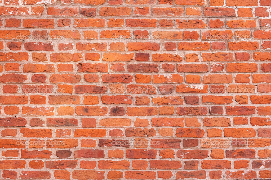 Red Brick Wall Decor : Depositphotos wall from red bricks free images at clker