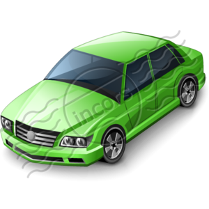 Car Sedan Green 8 Image