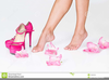 Pink High Heels Clipart Image