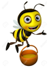 Cute Bee Clipart Image
