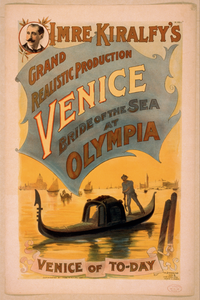 Imre Kiralfy S Grand Realistic Production, Venice, Bride Of The Sea At Olympia Image