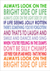 Typography Lyrics Poster Image