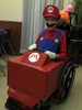 Mario Kart Wheelchair Halloween Costume Image