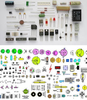 Electronics Components Clipart Image