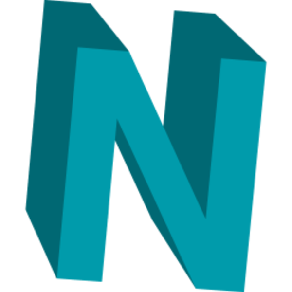 Letter N Icon | Free Images at Clker.com vector clip art online ...