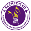 High Five Accredited Logo Image