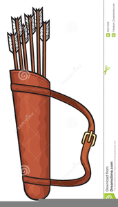 Clipart Bow Arrows Image