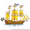 Free Clipart Mayflower Ship Image