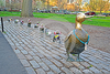 Make Way Ducklings Clipart Image