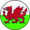 Welsh Dragon Flag Clipart Image
