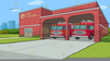 Free Fire Department Clipart Image