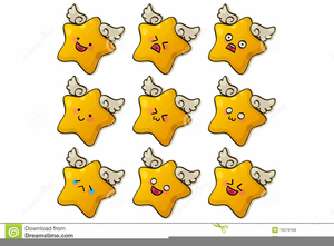 Free Cute Star Clipart Image
