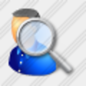 Icon User Search 11 Image