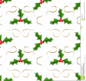 Holly Pictures With Berries Clipart Image