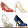 Orange Prom Shoes Image