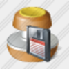Icon Stamp Save Image