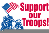 Clipart Support Our Troops Image