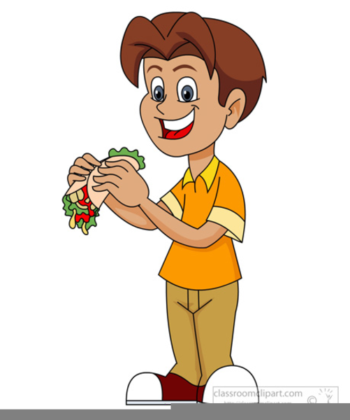 Clipart Child Eating Apple Free Images At Clker Com