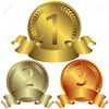 Bronze Medal Clipart Image
