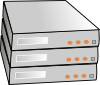 X86 Rack Servers Clip Art