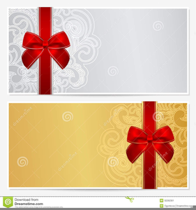 free clipart gift certificate template gift ideas