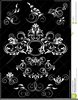 Flowers Clipart Black And White Border Image