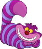 Cheshire Cat Color Image