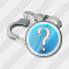 Icon Handcuffs Question Image