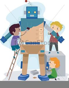 Robotics Clipart Free Free Images At Clker Com Vector Clip Art