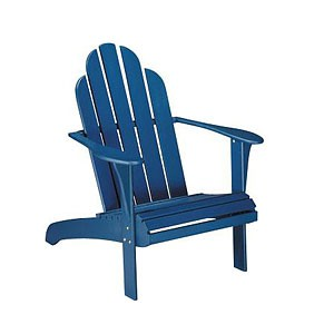 Blue Adirondack Chair | Free Images at Clker.com - vector ...