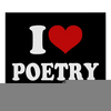 Love Poems Clipart Image