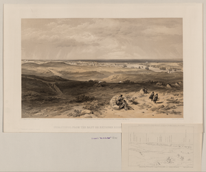 Sebastopol From The East Or Extreme Right Of English Attack  / W. Simpson Delt. ; T. Picken Lith. Image