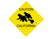 Caution California Image