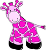 Cartoon Baby Giraffe Smu Image