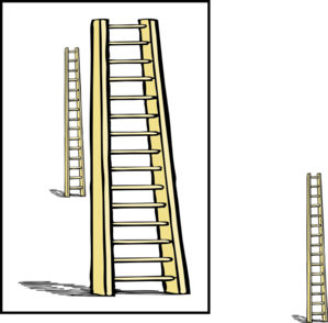 Ladder Enlarge Clip Art