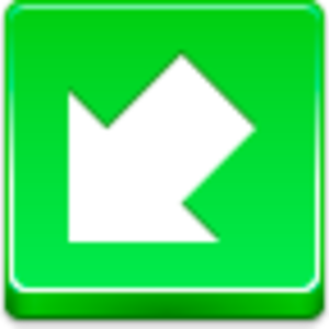 Arrow Bottom Left Icon Image