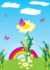Flowers Blossoming Clipart Image