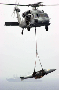 An Mh-60s Knighthawk Helicopter From The Image
