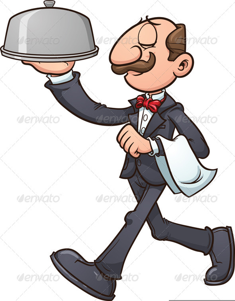 animated waiter clipart free images at clker com vector clip art rh clker com waiter clip art free water clip art free download