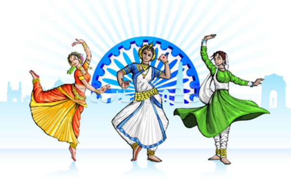 Free Colorful Dancing Cliparts, Download Free Clip Art ... |Bollywood Dancer Clipart