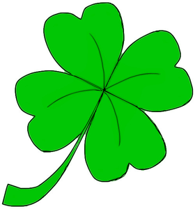 four leaf clover clipart free images at clker com vector clip